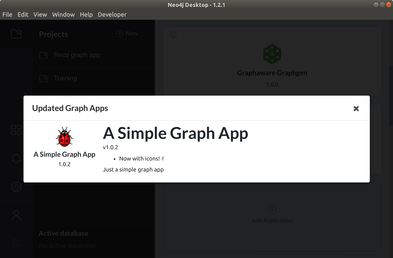 Build your first Neo4j Desktop Graph App in vanilla Javascript