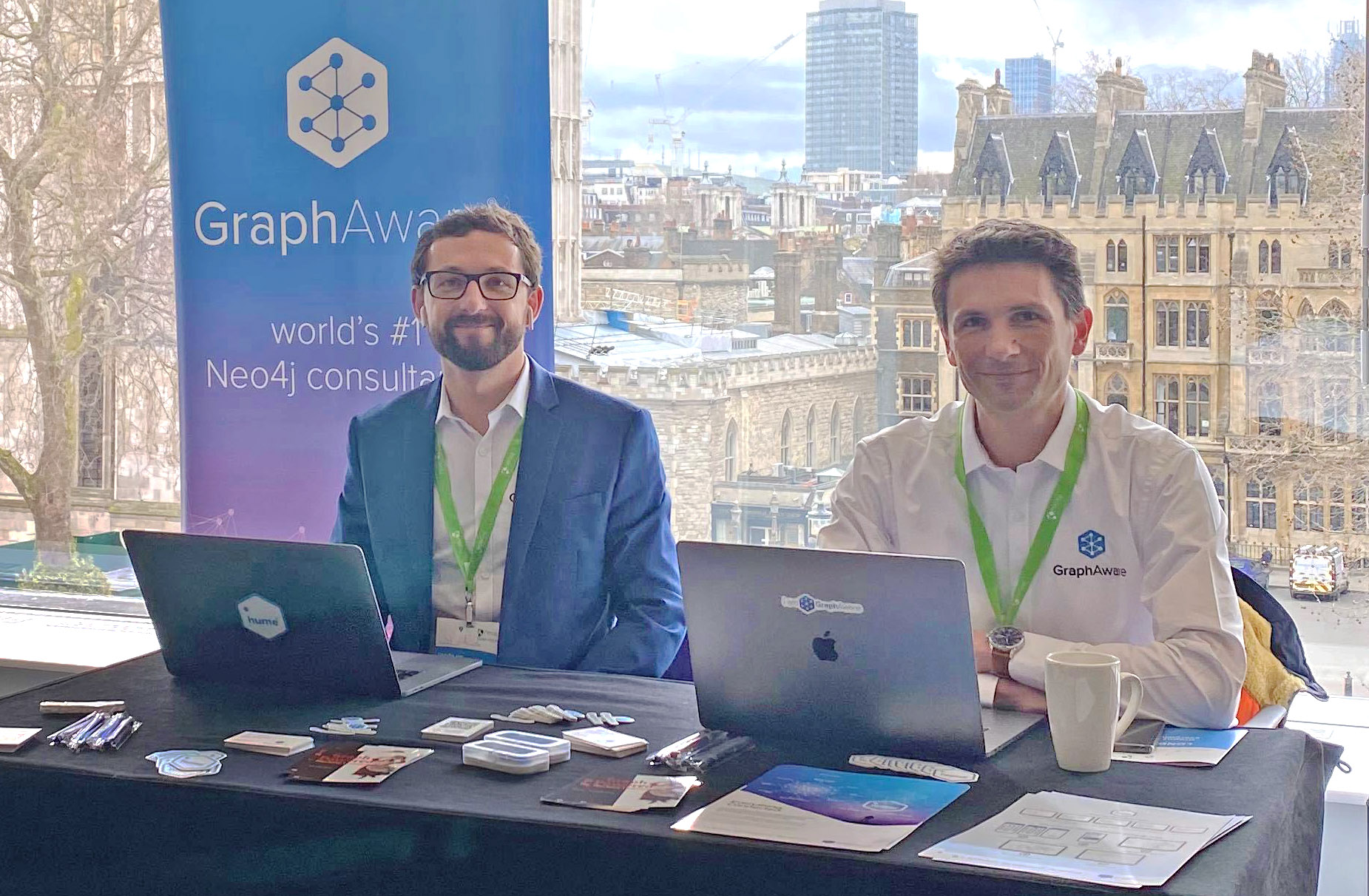 GraphAware's Virtual Booth at GraphTour EMEA 2020