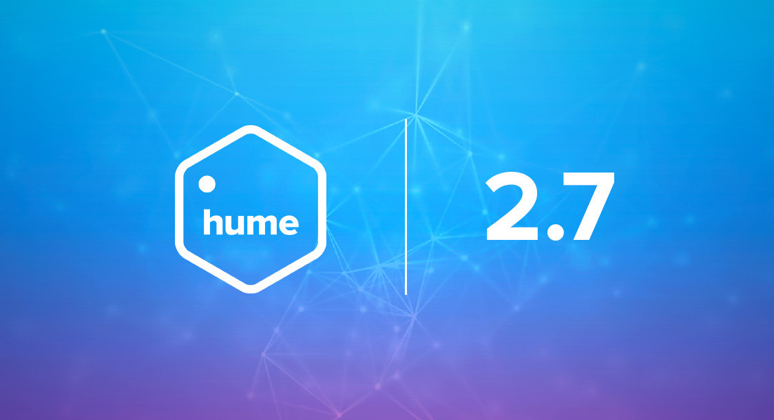 New in Hume 2.7: Search relevance, improved visualisation, and much more!